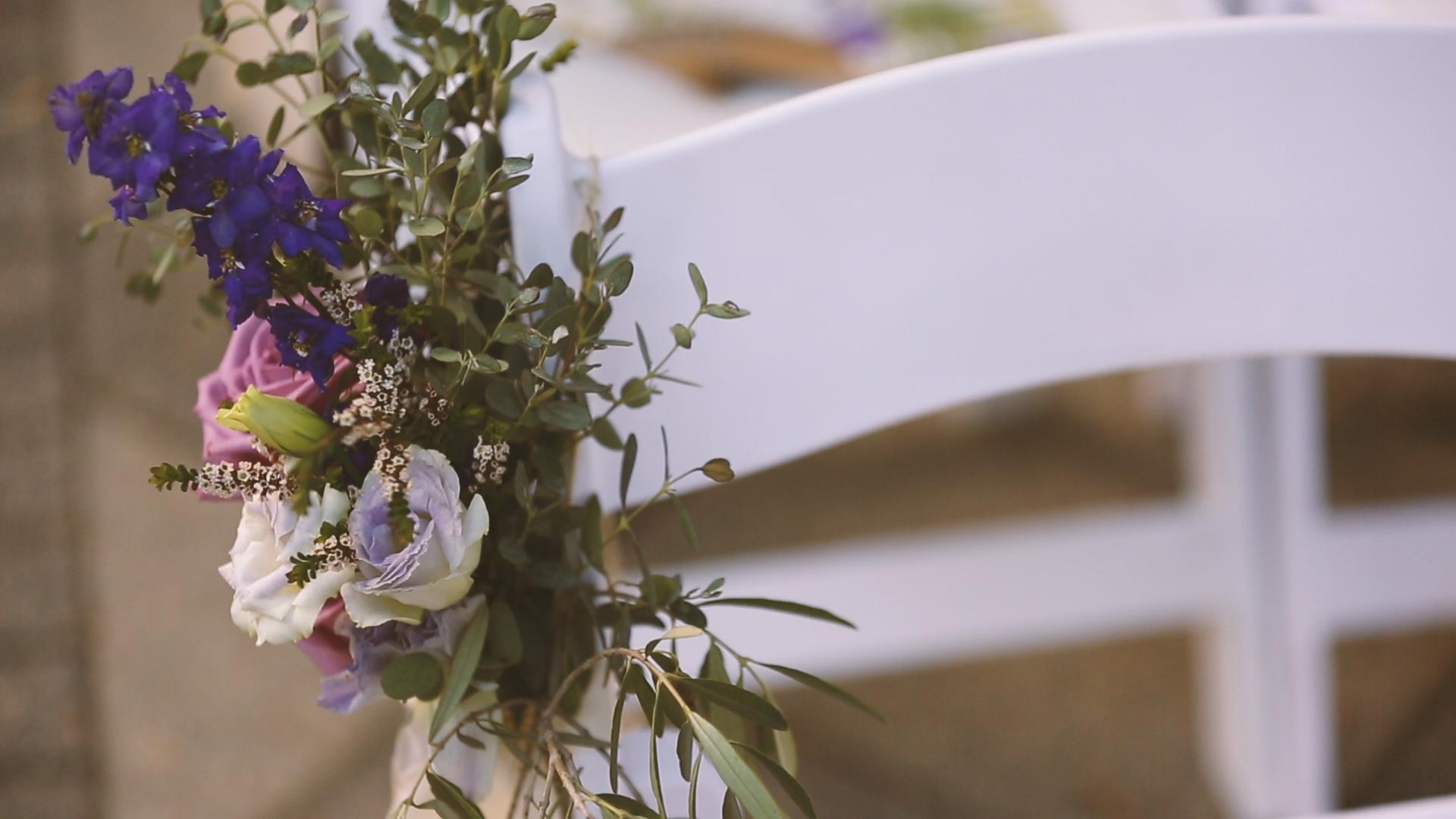 Ceremony Flowers - Bride Film