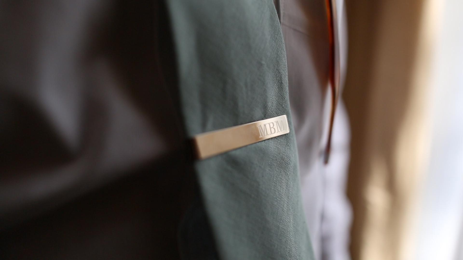 Tie Clip - Bride Film