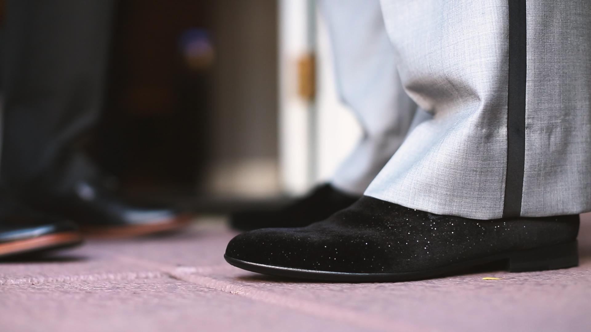 Groom Shoes - Bride Film