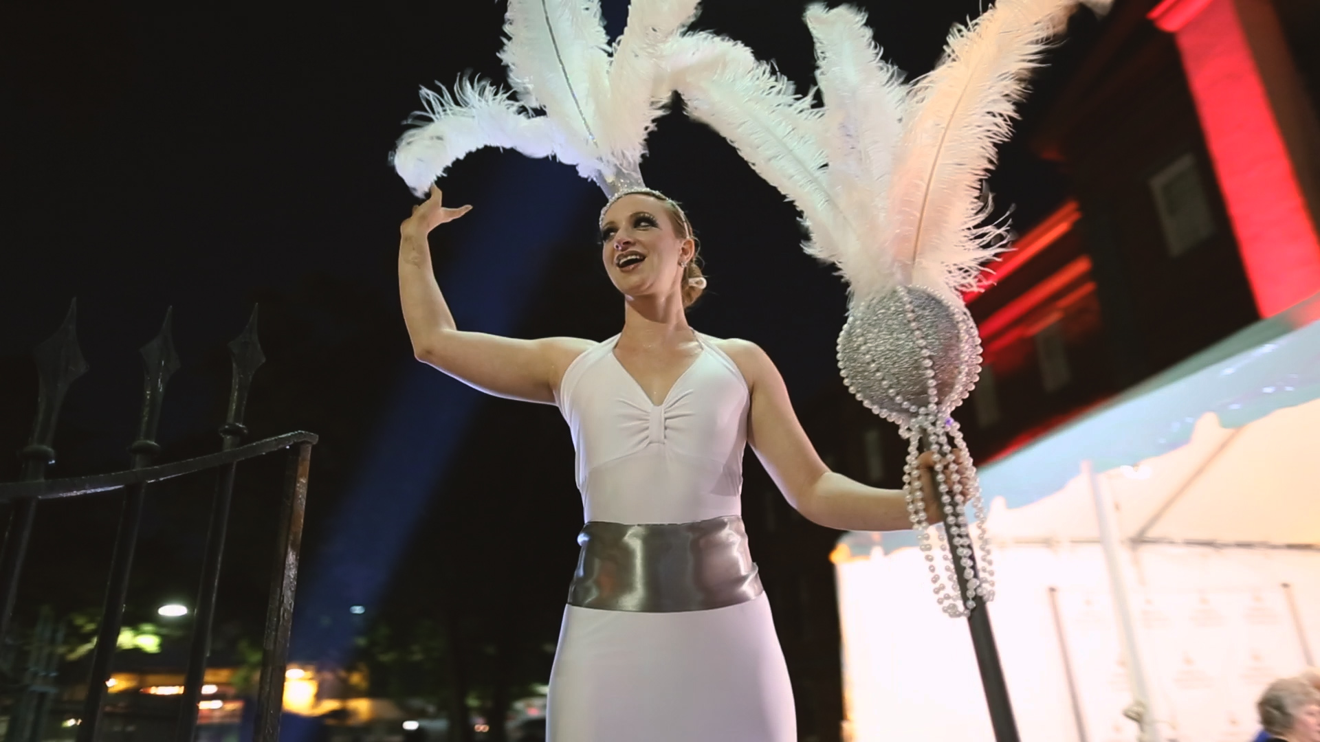 Stilt Walkers - Bride Film