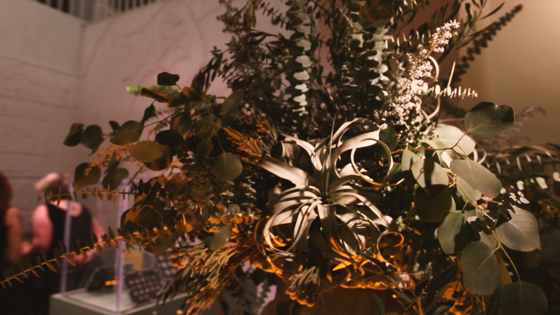 Grey Florals - Bride Film