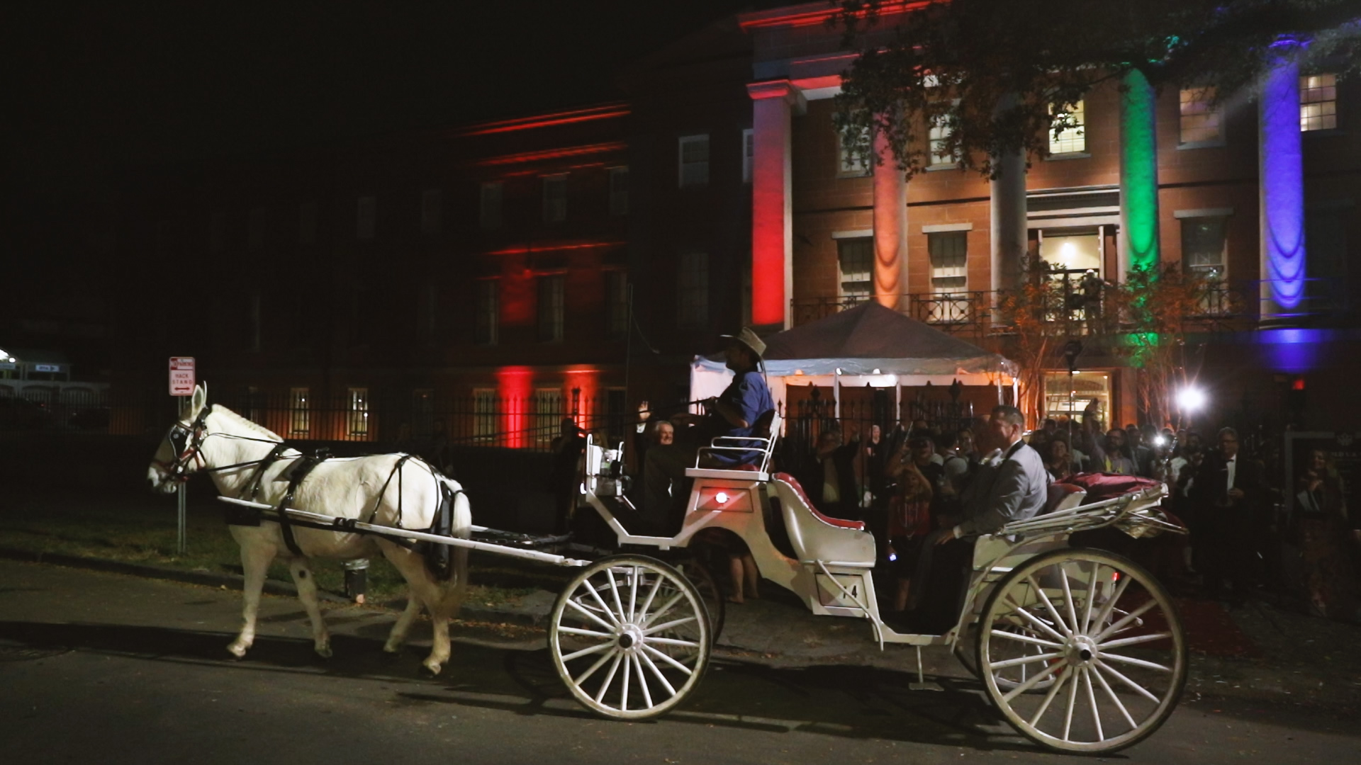Horse and Carriage - Bride Film