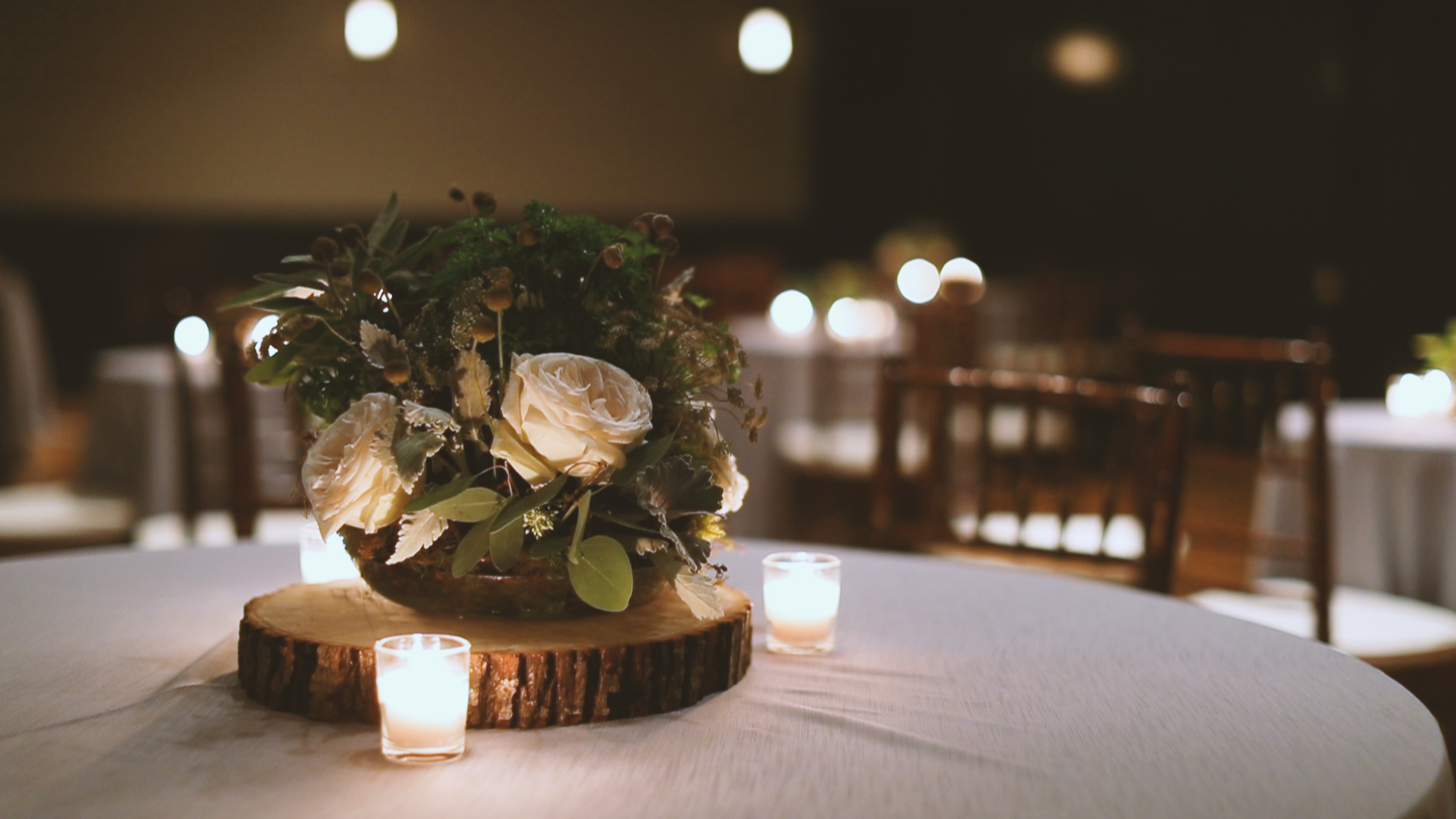 Rustic Floral Arrangement - Bride Film