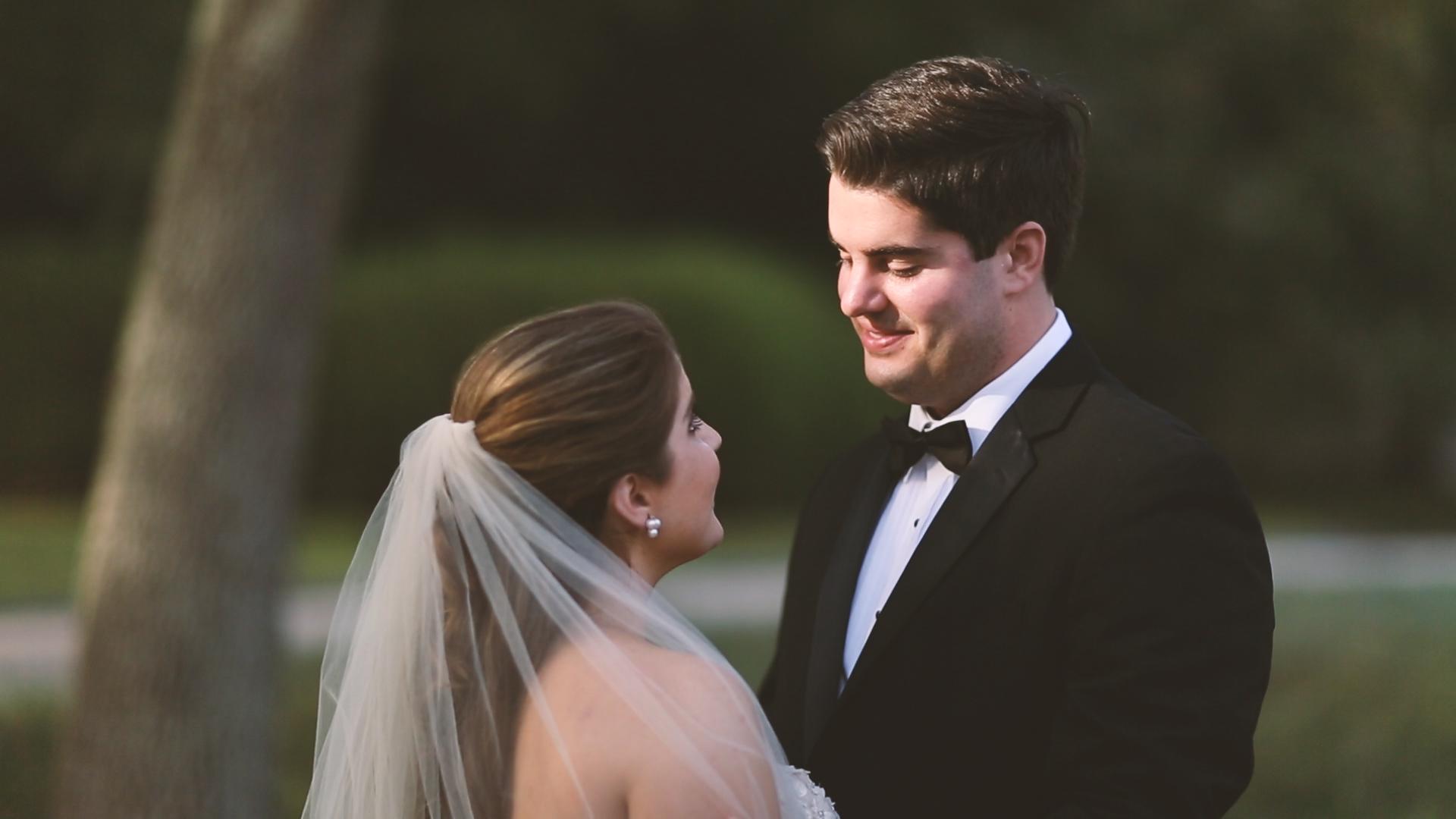 Longue Vue Garden Wedding Videographers New Orelans First Look - Bride Film