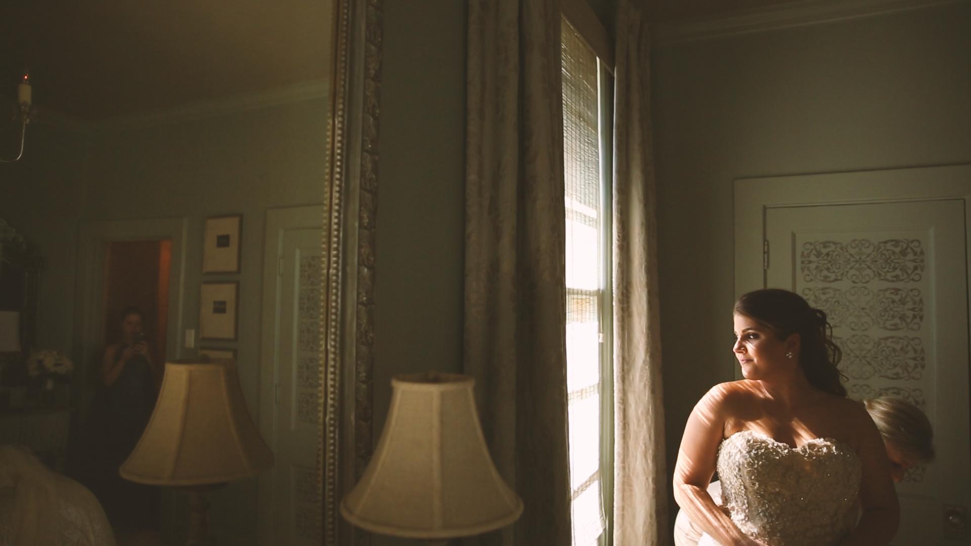 Longue Vue Garden Wedding Videographers New Orelans Bride Prep - Bride Film