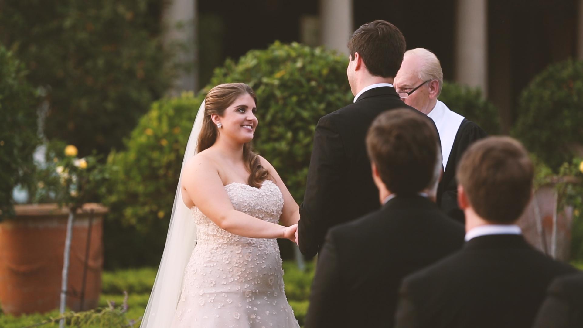 Longue Vue Garden Wedding Videographers New Orelans Wedding Vows - Bride Film
