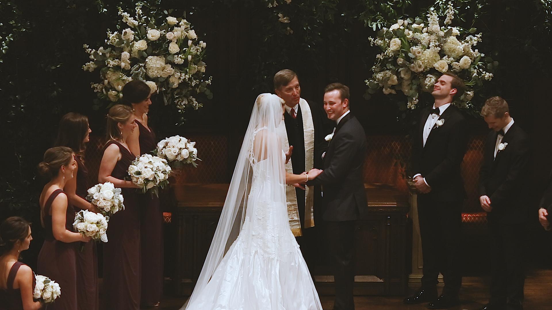 New Orelans St. Charles Presbyterian Ceremony Bride Film