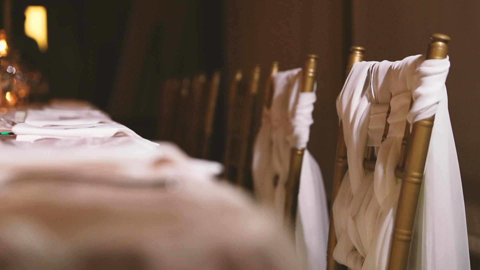 Chair Decor - Bride Film