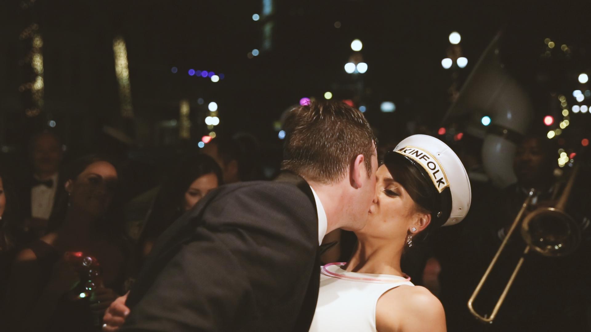 Best Wedding Brass Band New Orleans Kinfolk Brass Band - Bride Film