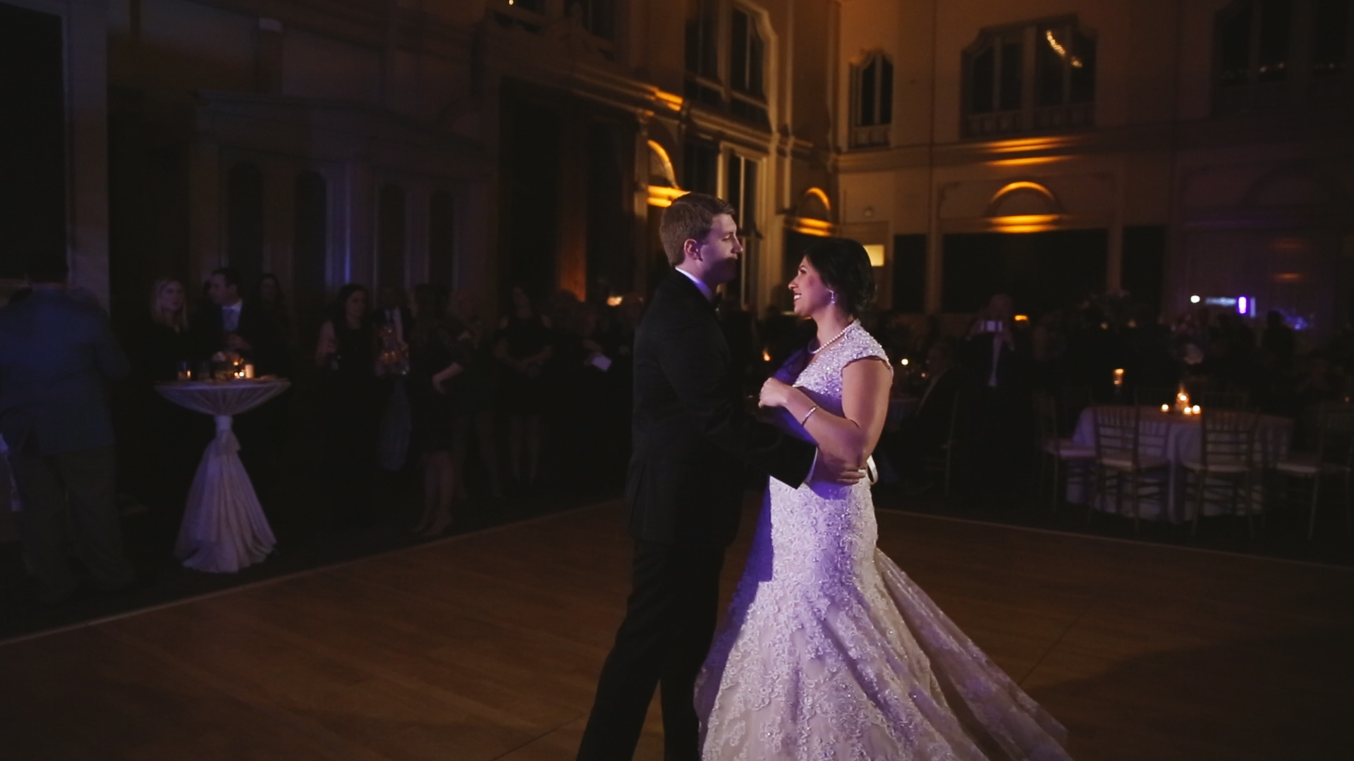 Gabby and Patrick_First dance wide Board of New Orleans