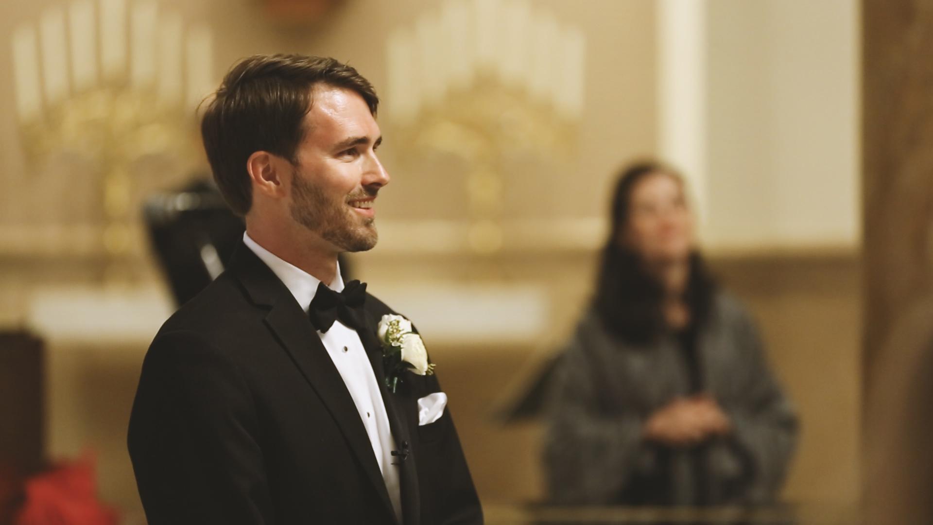 Groom Seeing Bride - Bride Film
