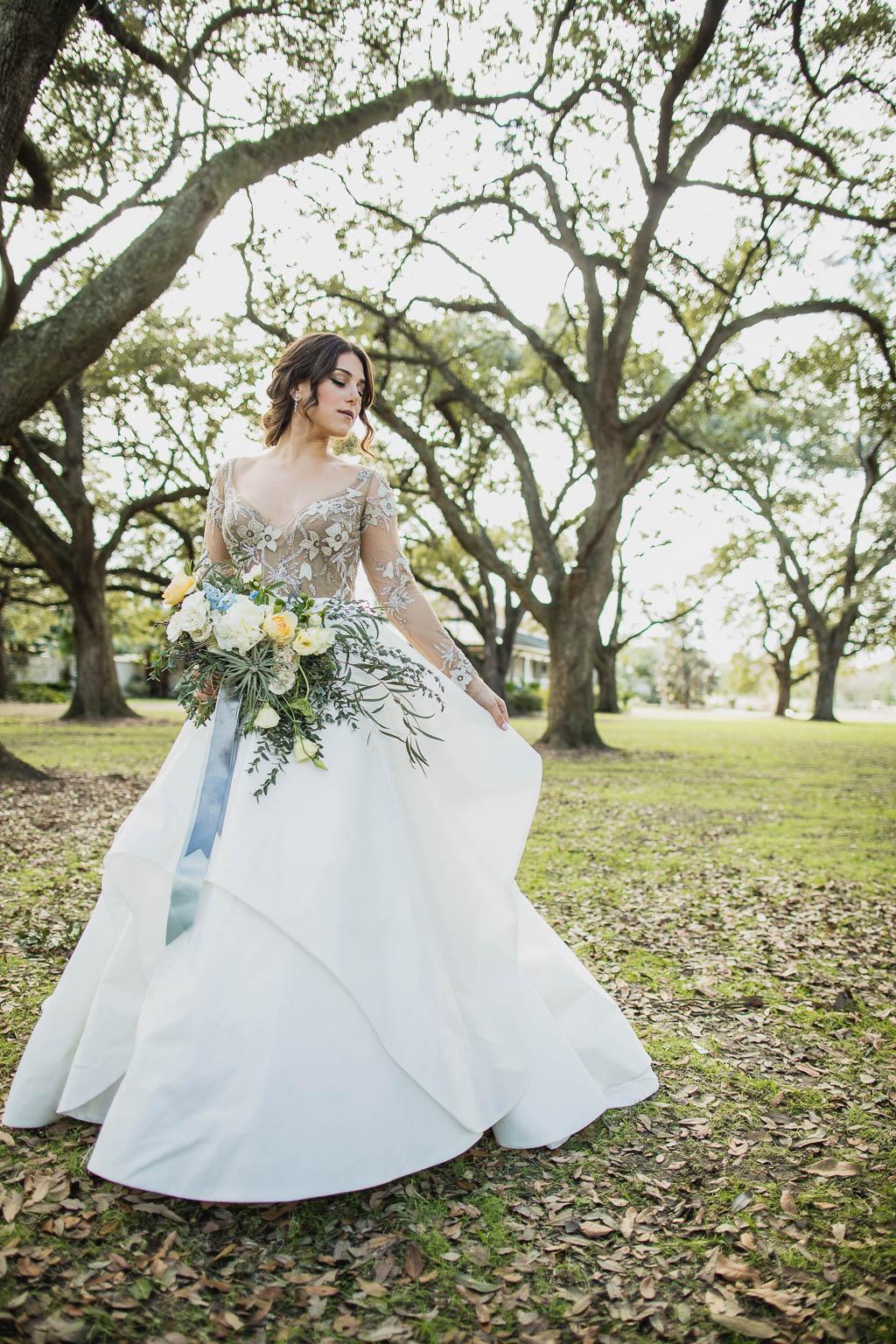 Gorgeous Audubon Park Bridal Shoot