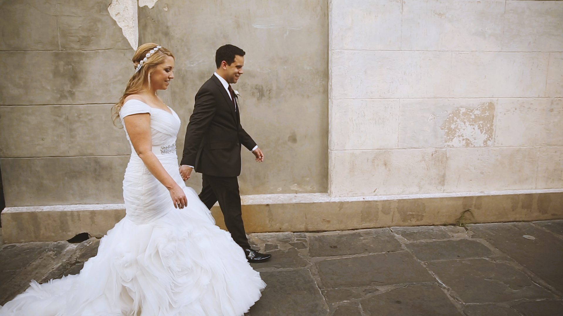 Wedding Day Portraits - Bride Film