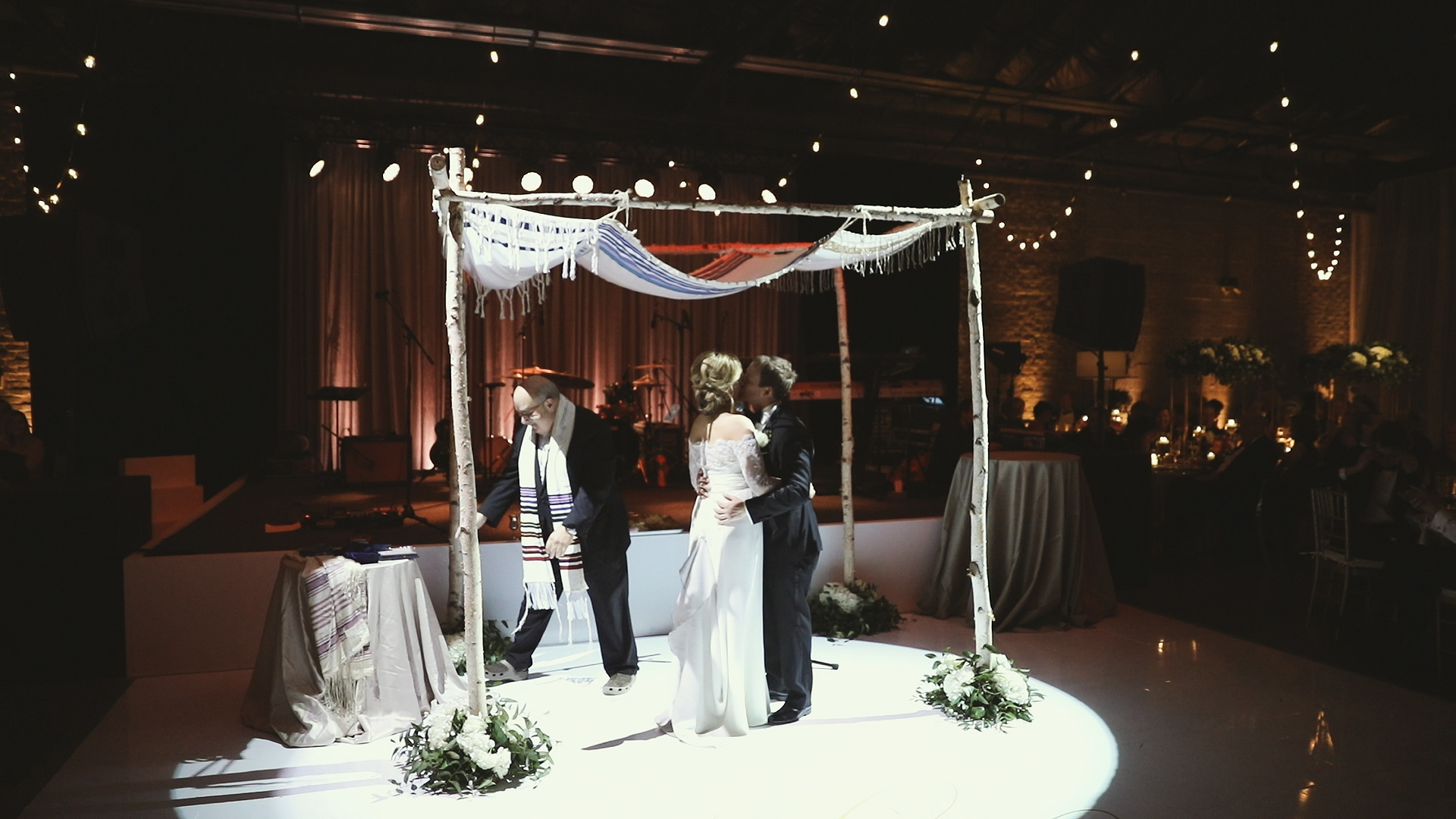 Colleen and Charles_Urban Contemporary Arts Center Wedding_New Orleans videographer_Jewish ceremony