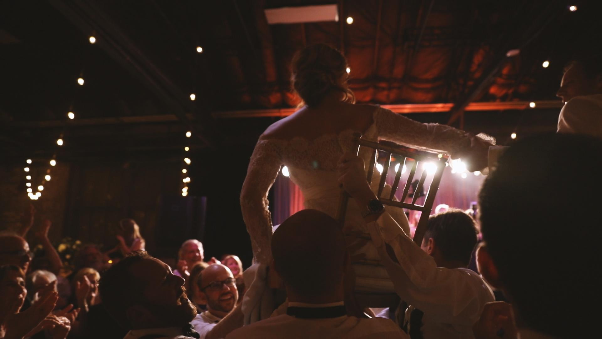 Colleen and Charles_Urban Contemporary Arts Center Wedding_New Orleans videographer_wedding hava nagila