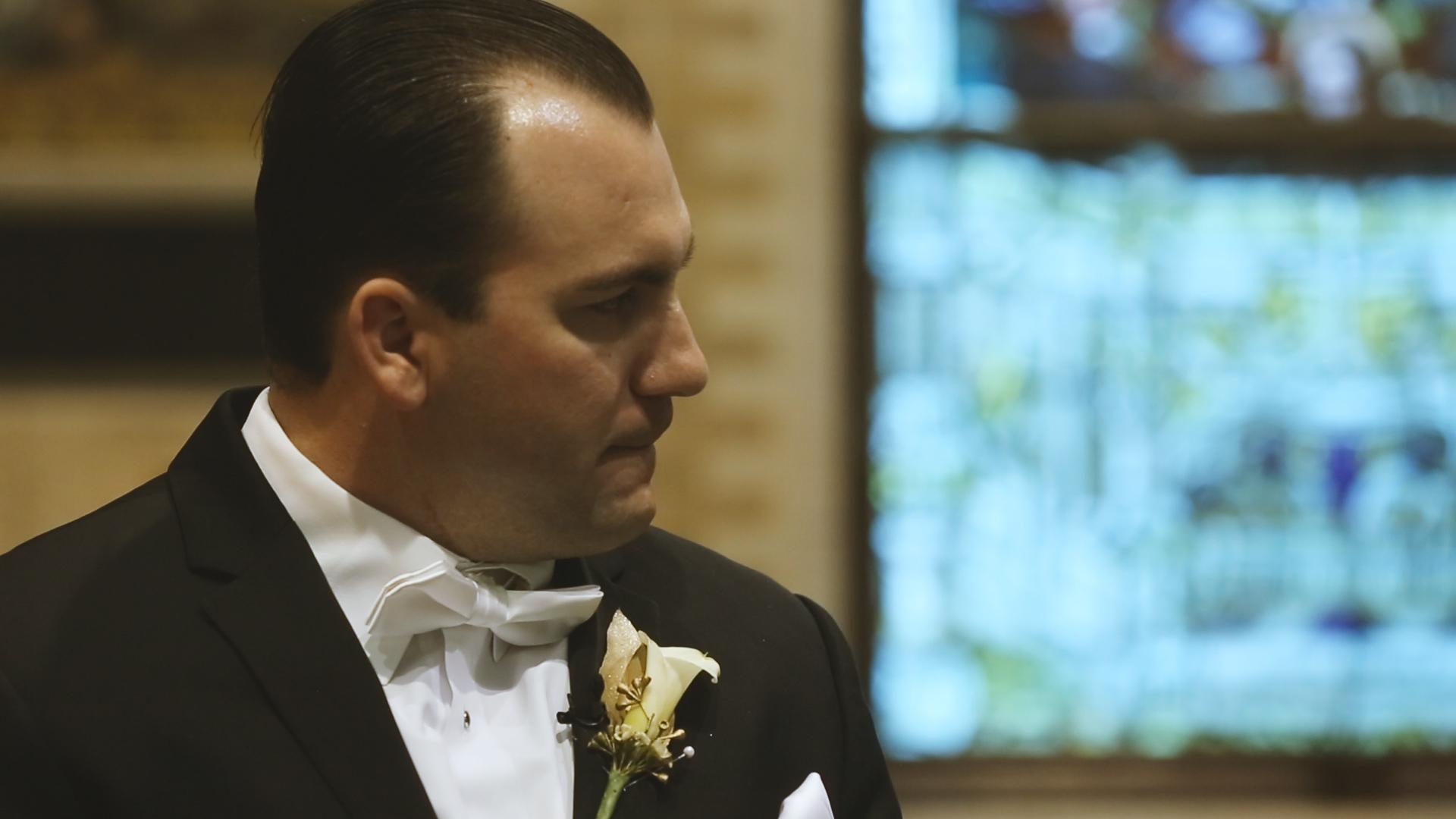 BrideFilm_Baton Rouge Wedding Videography_groom wedding reaction