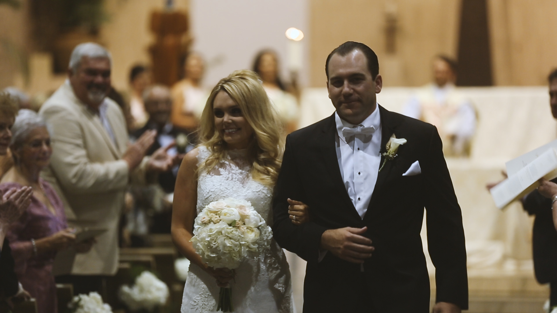 BrideFilm_Baton Rouge Wedding Videography_carly and ted walking down aisle