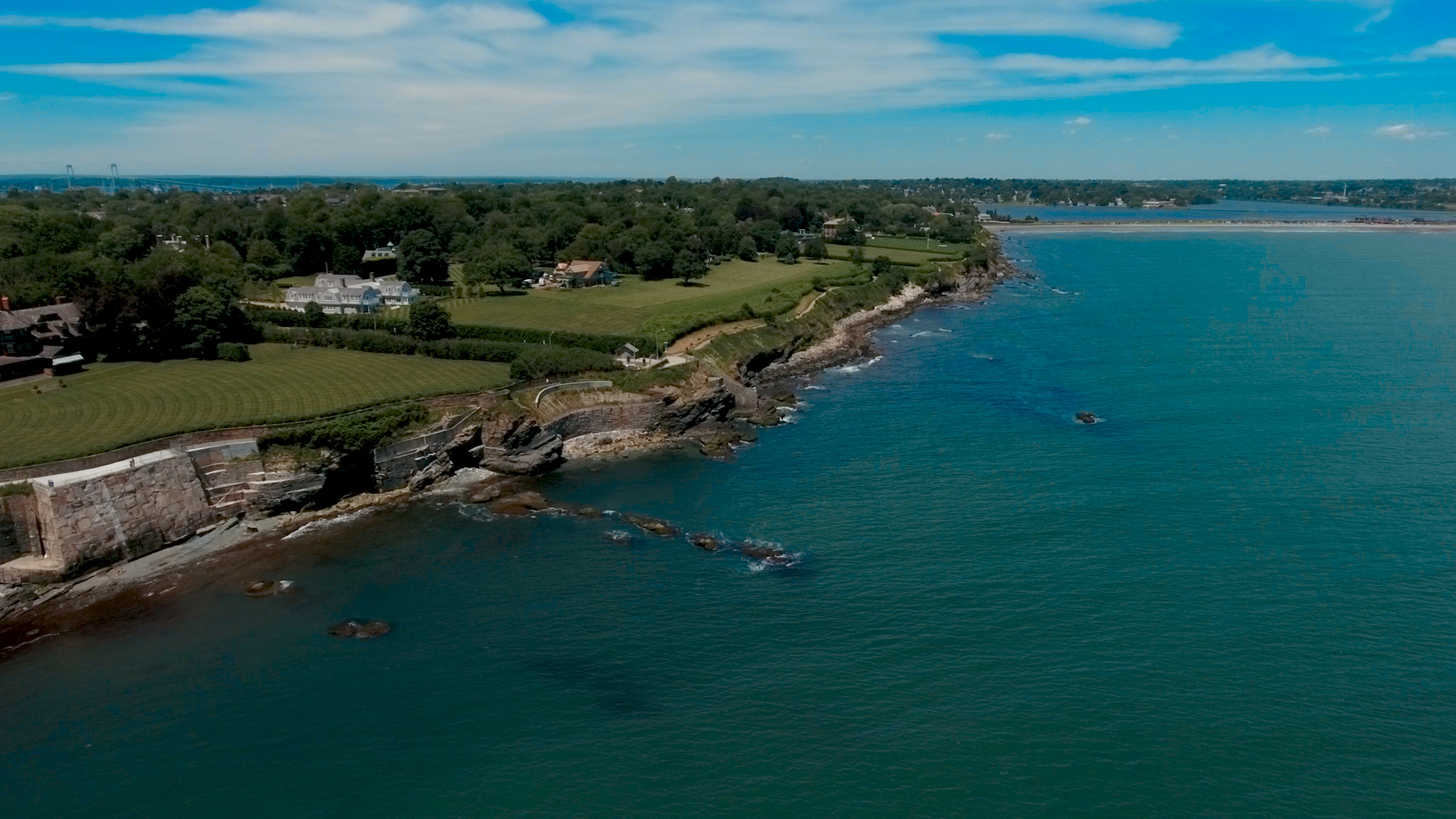 Newport Rhode Island Wedding Video - Bride Film - Drone