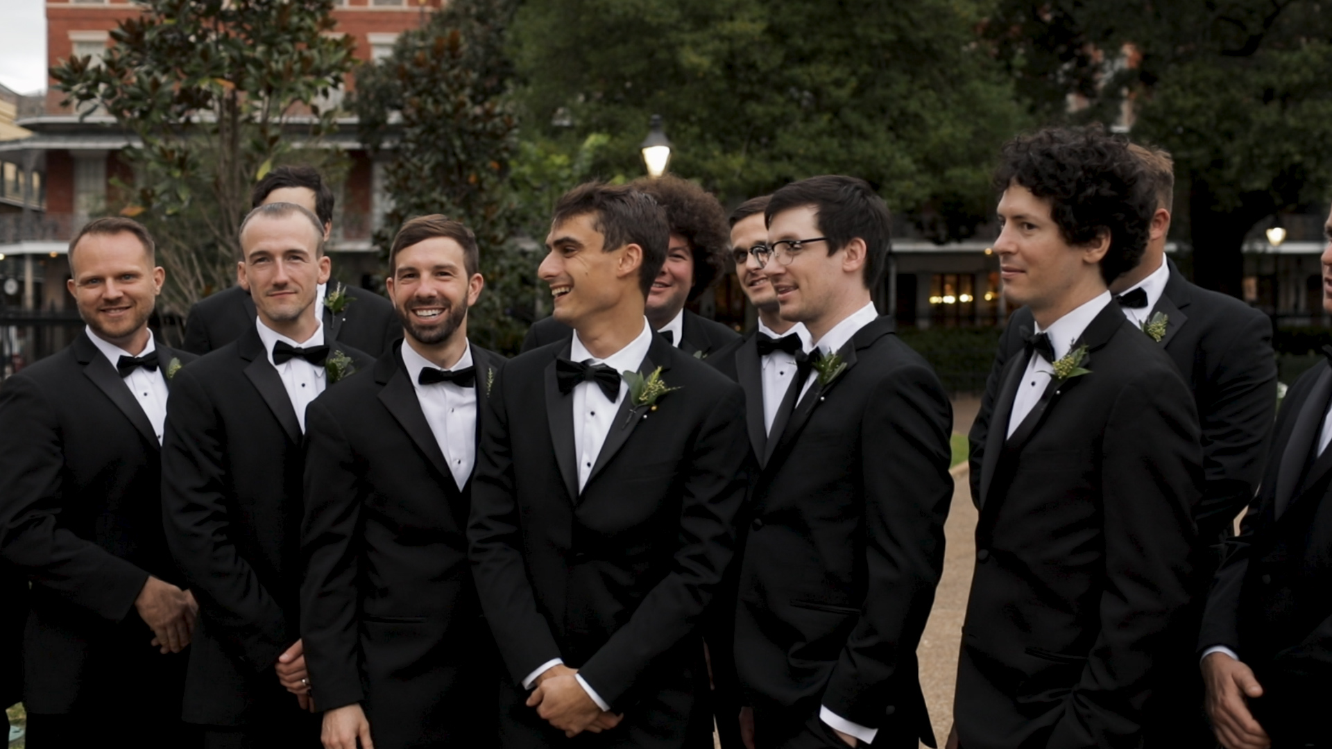 New Orleans Wedding Videography_Marianne and Clark_Groomsmen pictures