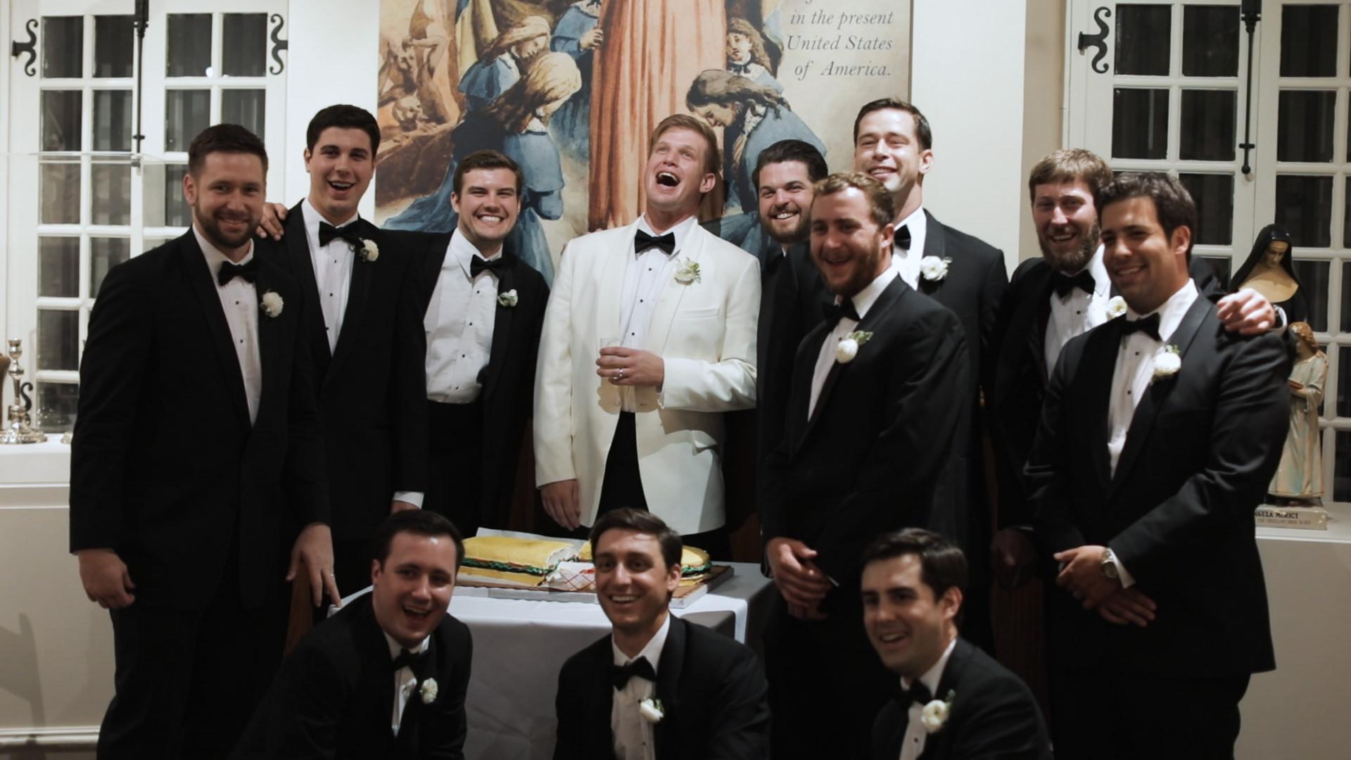 Ursuline Convent Wedding - Bride Film