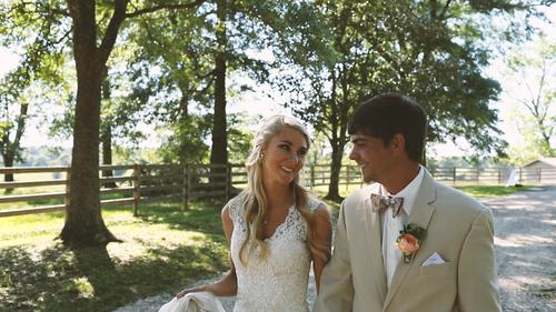 Romantic, Intimate Farm Wedding