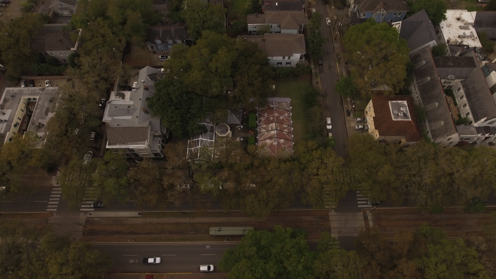 New Orleans Wedding Video_Elms Mansion_Paige and Travis_Wedding drone