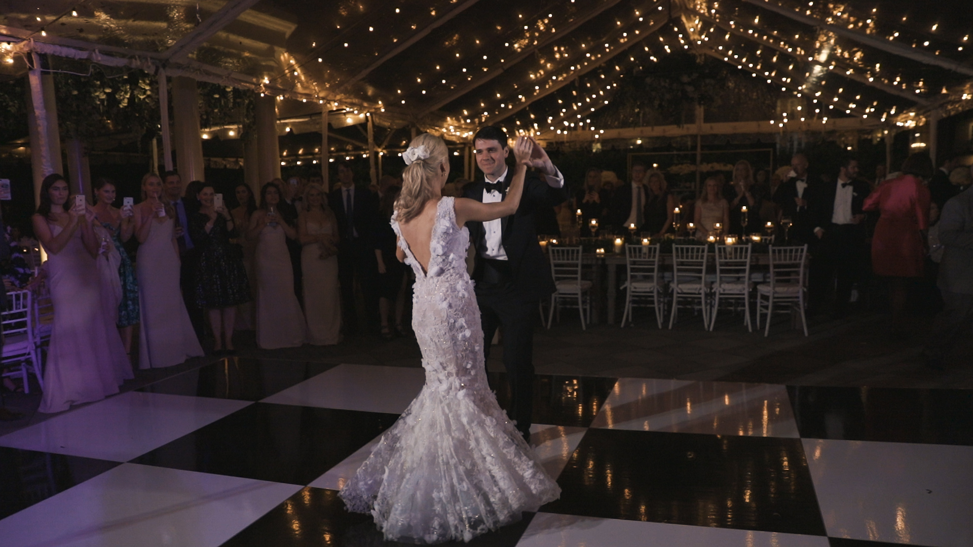New Orleans Wedding Video_Elms Mansion_Paige and Travis_bride and groom first dances