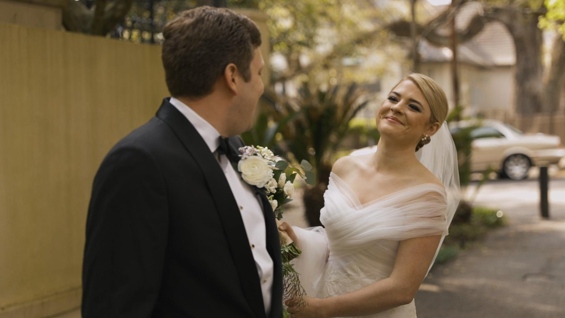 New Orleans Country Club Wedding - Bride Film