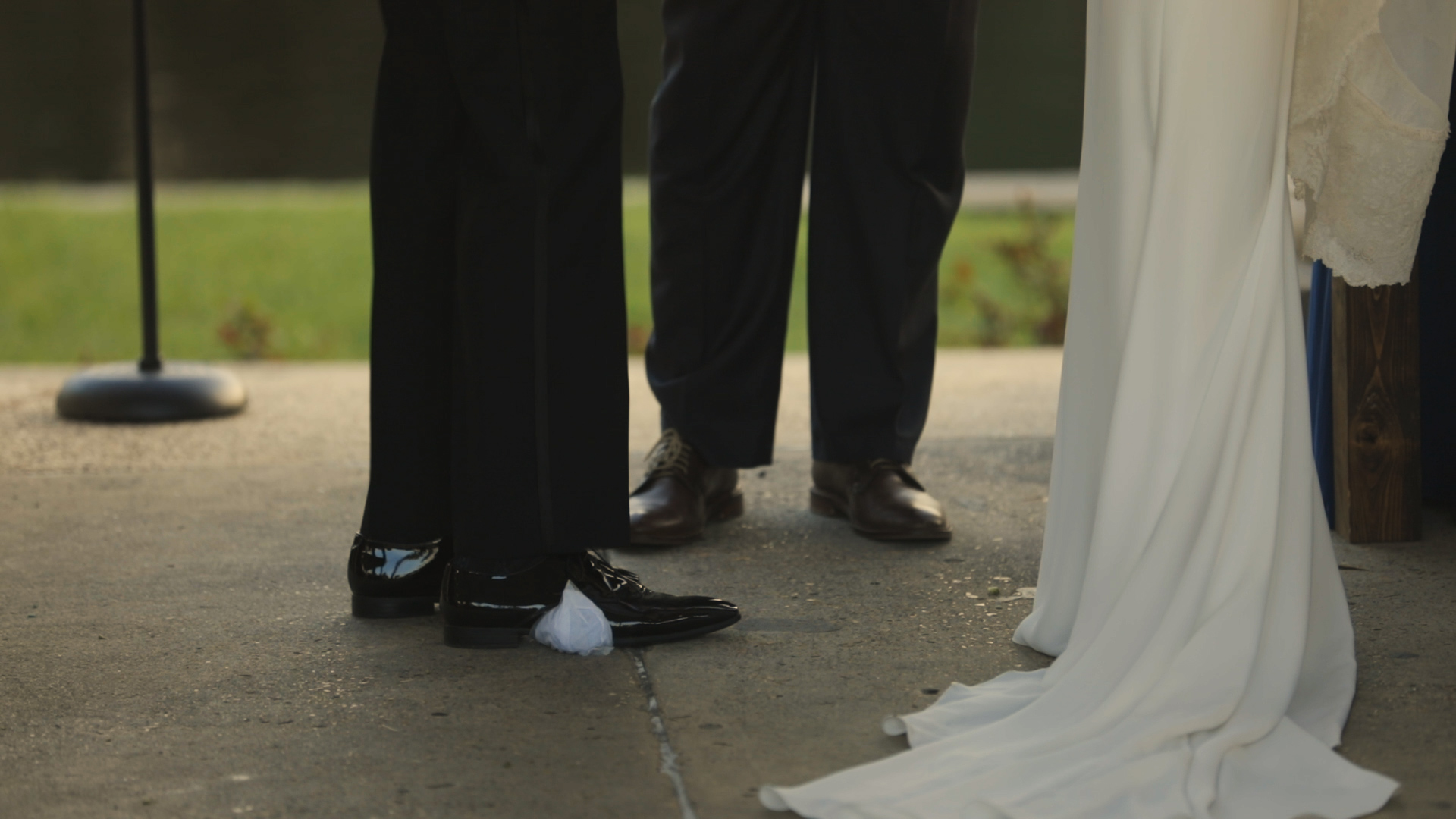 Anya and Max_New Orleans Wedding Video_Bride Film_Peristyle City Park_Jewish Ceremony Breaking Glass