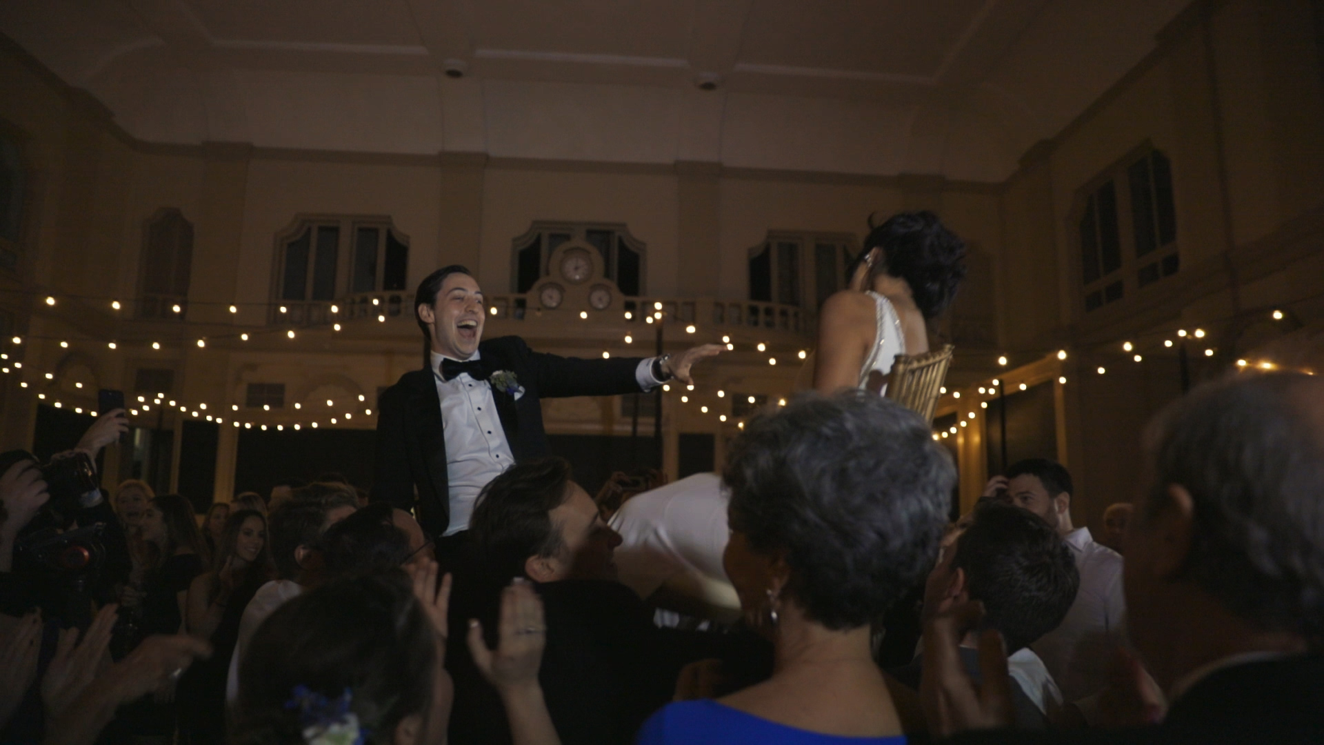 Anya and Max_New Orleans Wedding Video_Bride Film_Board of Trade reception_hora dance