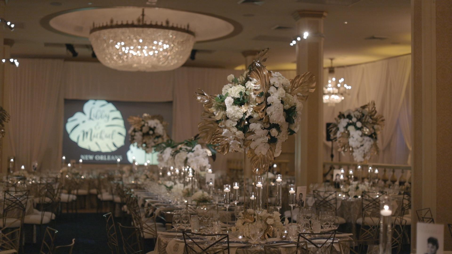 Roosevelt Blue Room Wedding_Bride Film
