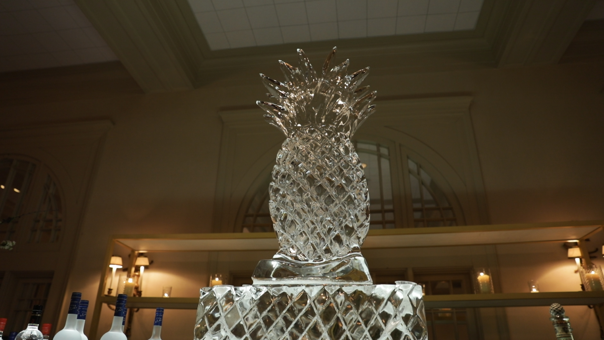 New Orleans Wedding Video_Sibyl and Charles_Ice sculpture