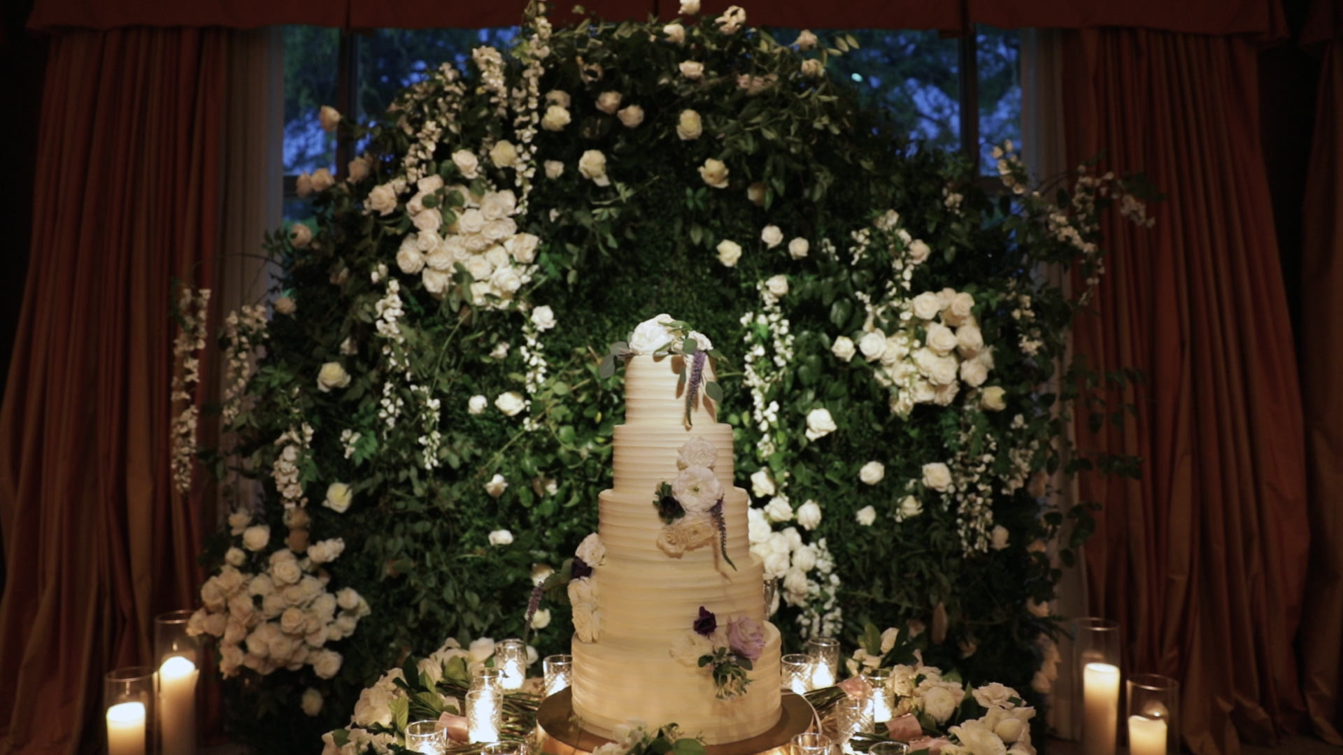 New Orleans Wedding Video_Sibyl and Charles_Wedding Cake