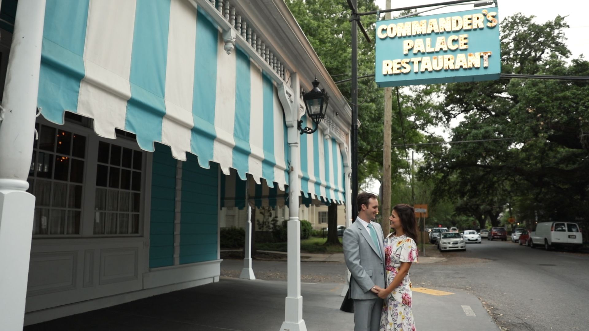 New Orleans Wedding Video_Sibyl and Charles_Commanders Palace Rehearsal Dinner