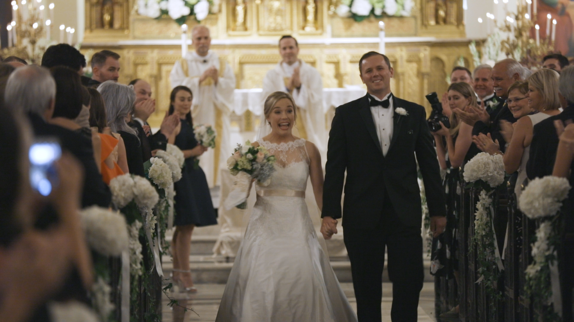 New Orleans Immaculate Conception Wedding - Bride Film
