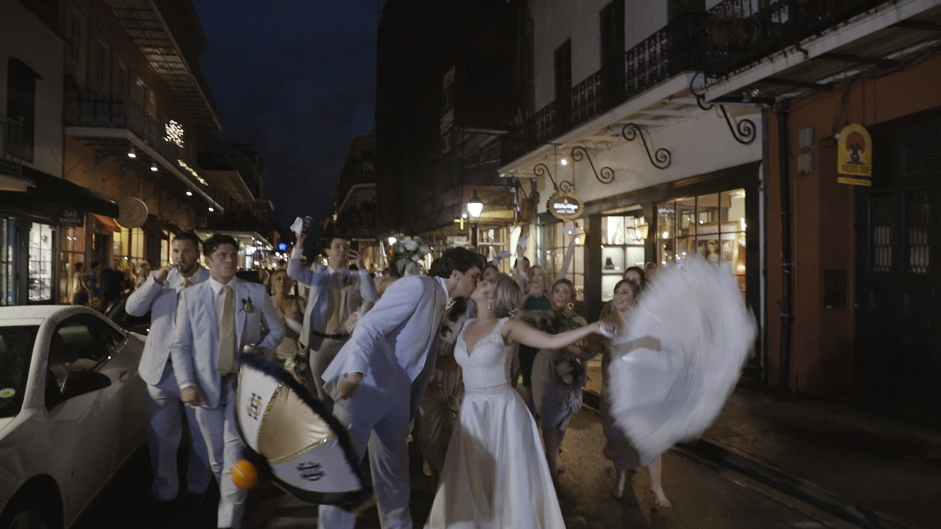 New Orleans Second Line - Bride Film
