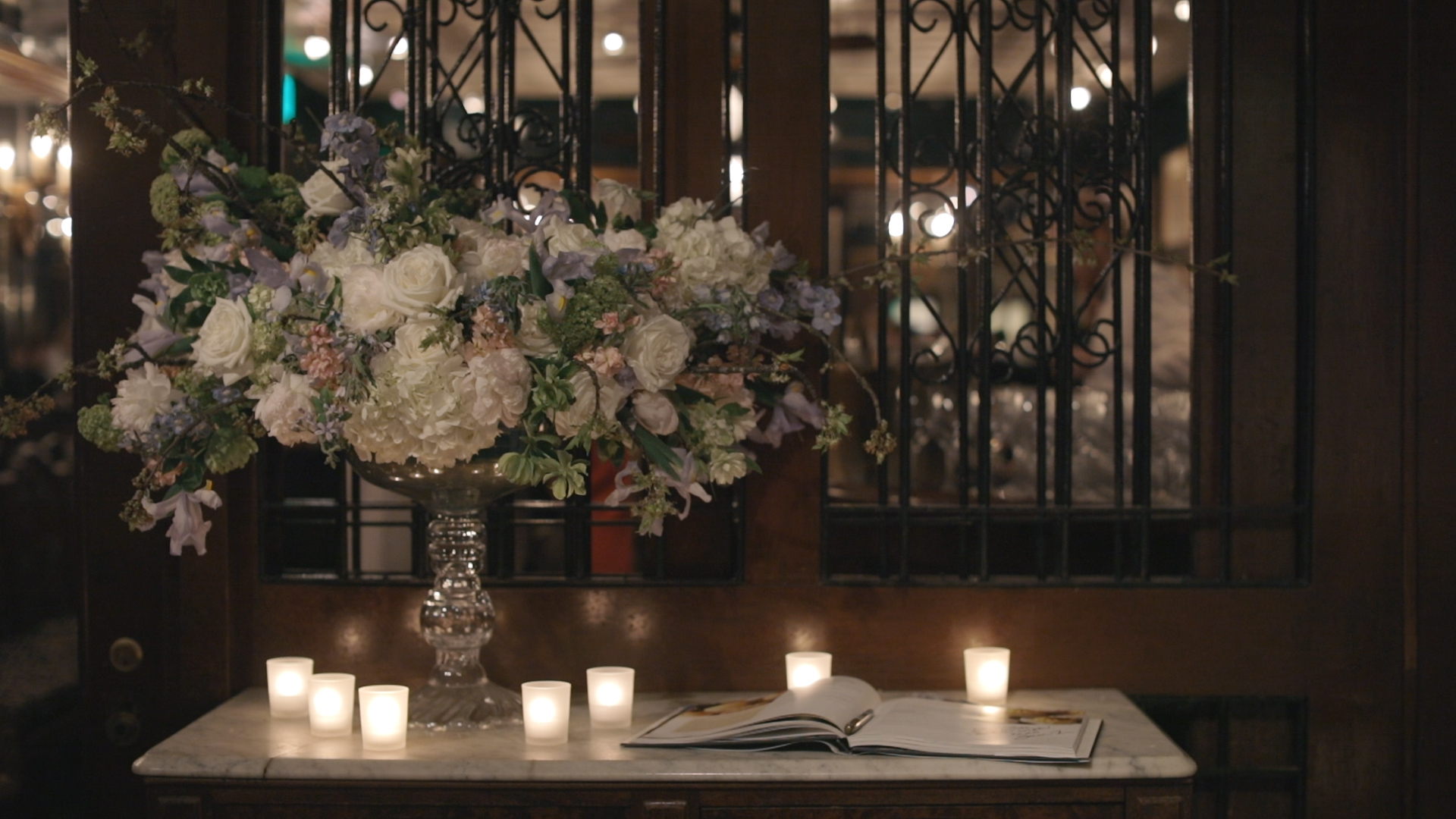 Arnauds New Orleans Wedding Reception - Bride Film