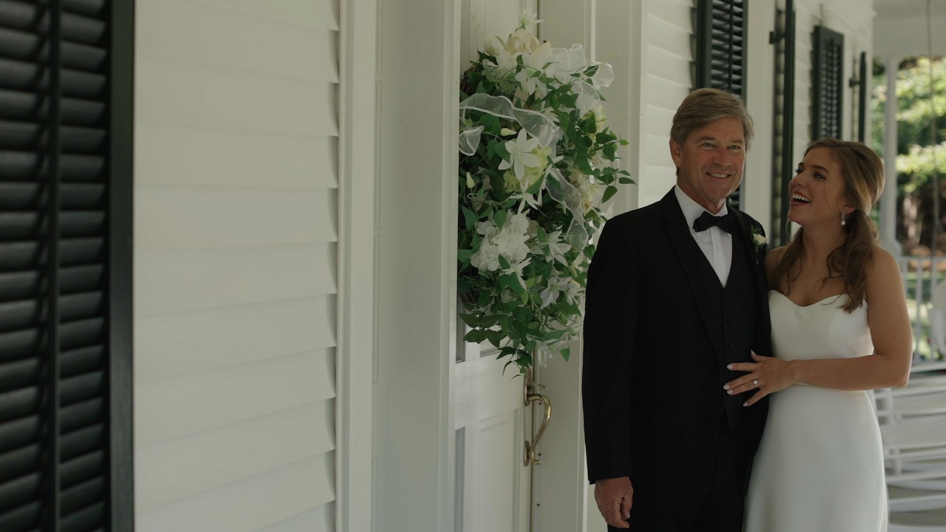 Covington Wedding Video - Bride Film - Father of the Bride