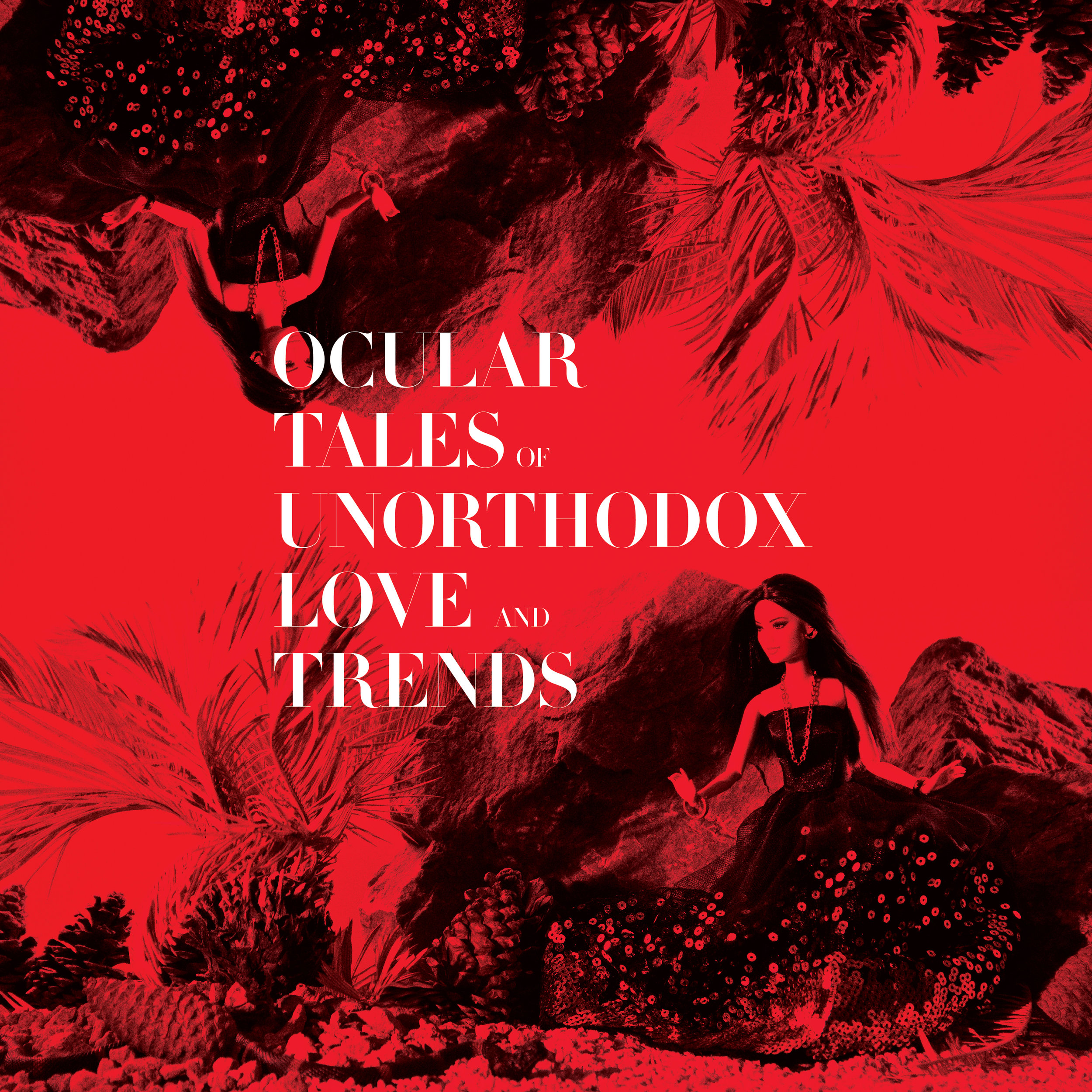 ocular tales of unorthodox love and trends  photo-book cover + spreads