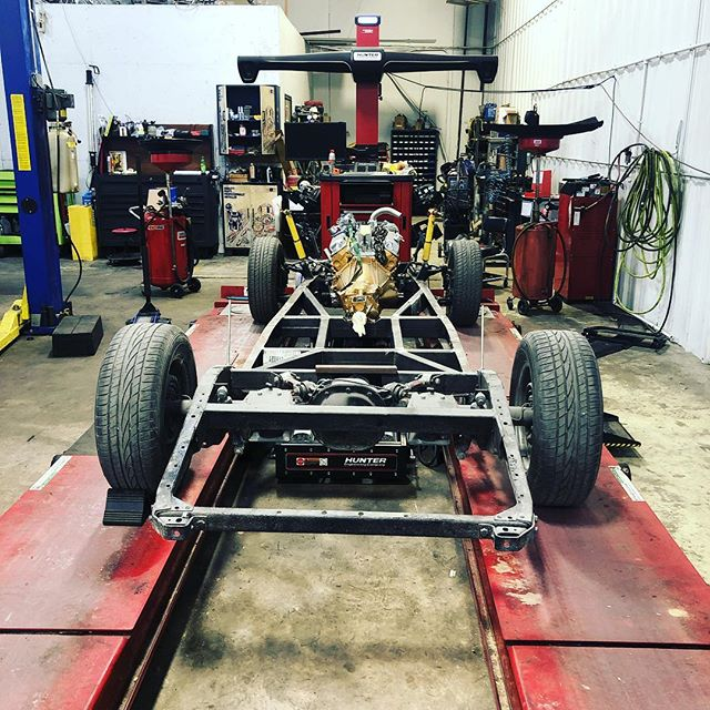 Getting ready to square up the ol girl #coupe #hotrod #restoration #fordcoupe #classiccars #classiccar
