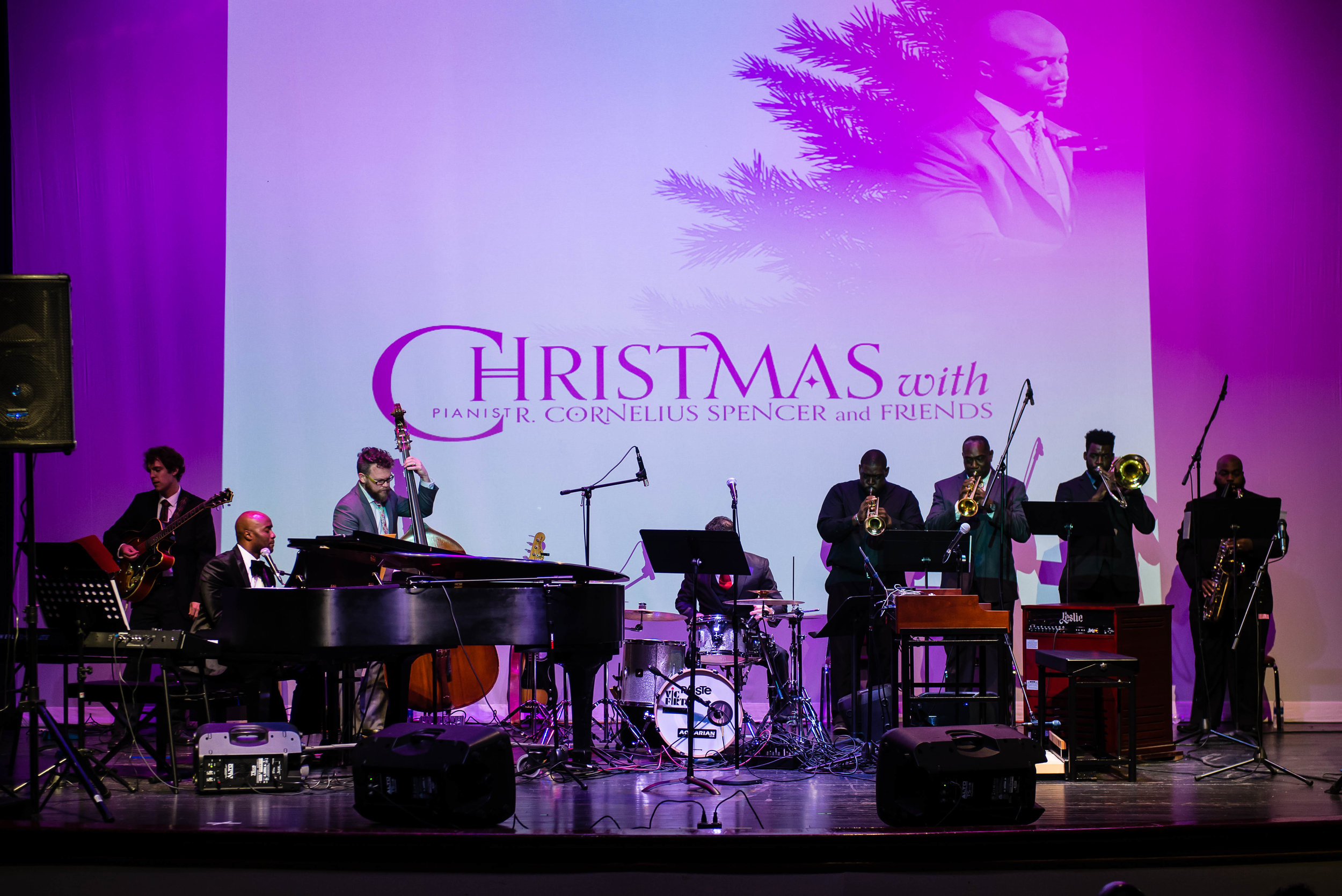Christmas with Pianist R. Cornelius Spencer & Friends at the Historic Douglass Theatre (2017)