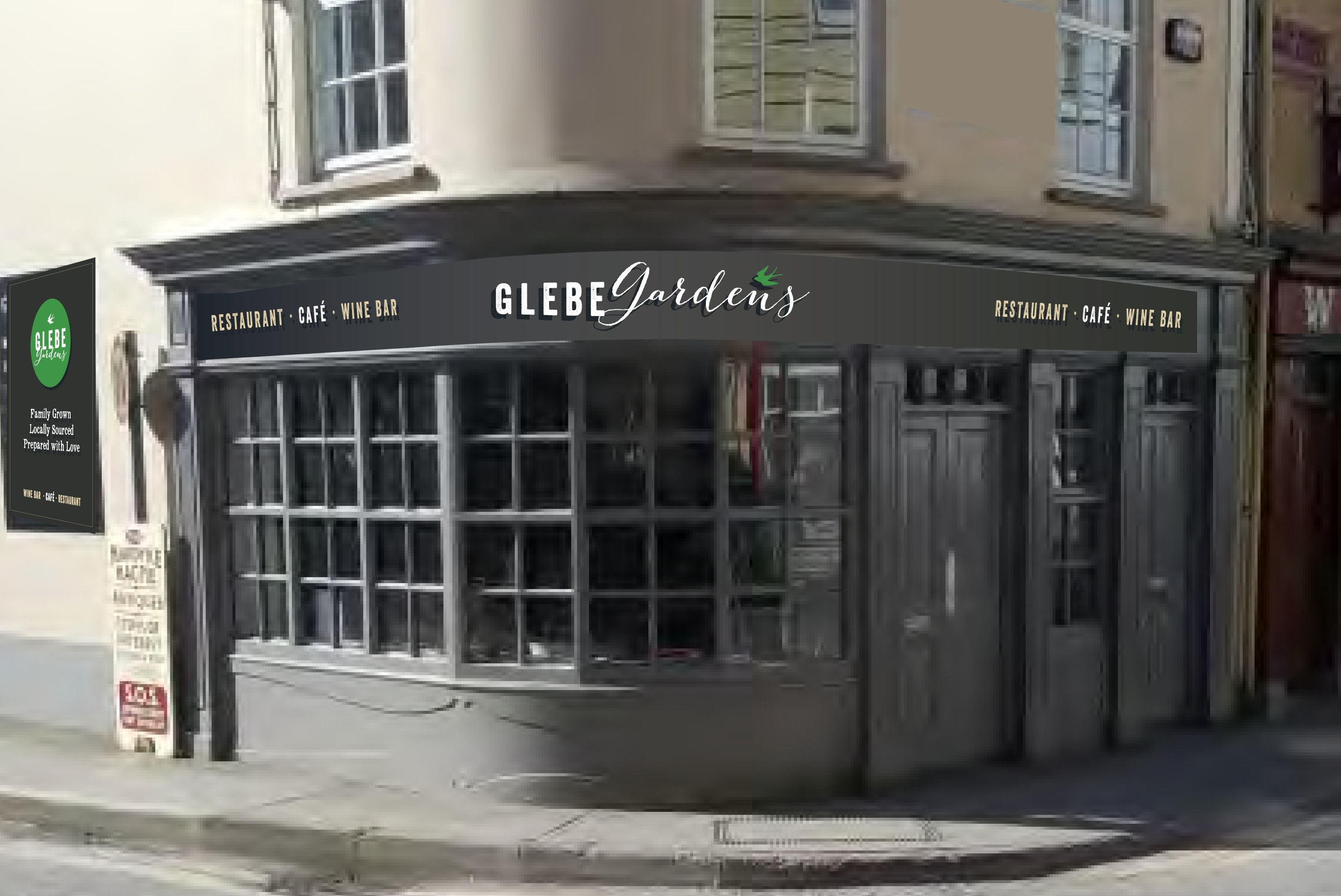 Glebe Gardens Cafe, Skibbereen - Glebe Gardens Cafe in Skibbereen is a new venture for the Perry sister. The new cafe will bring much of what has inspired the Glebe in Baltimore to this new setting in the near by town of Skibbereen.