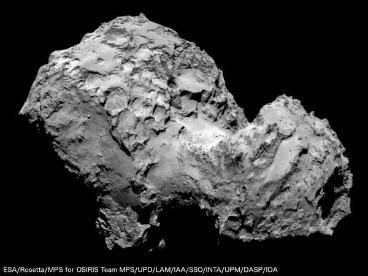 La comète « Chury »