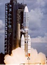 Une des fusées « Centaur »