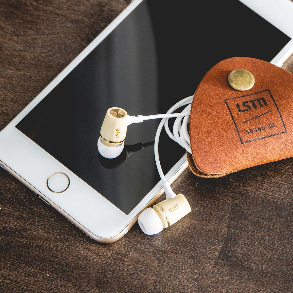 LSTN Sound Co. - Bamboo Wembley Earbuds