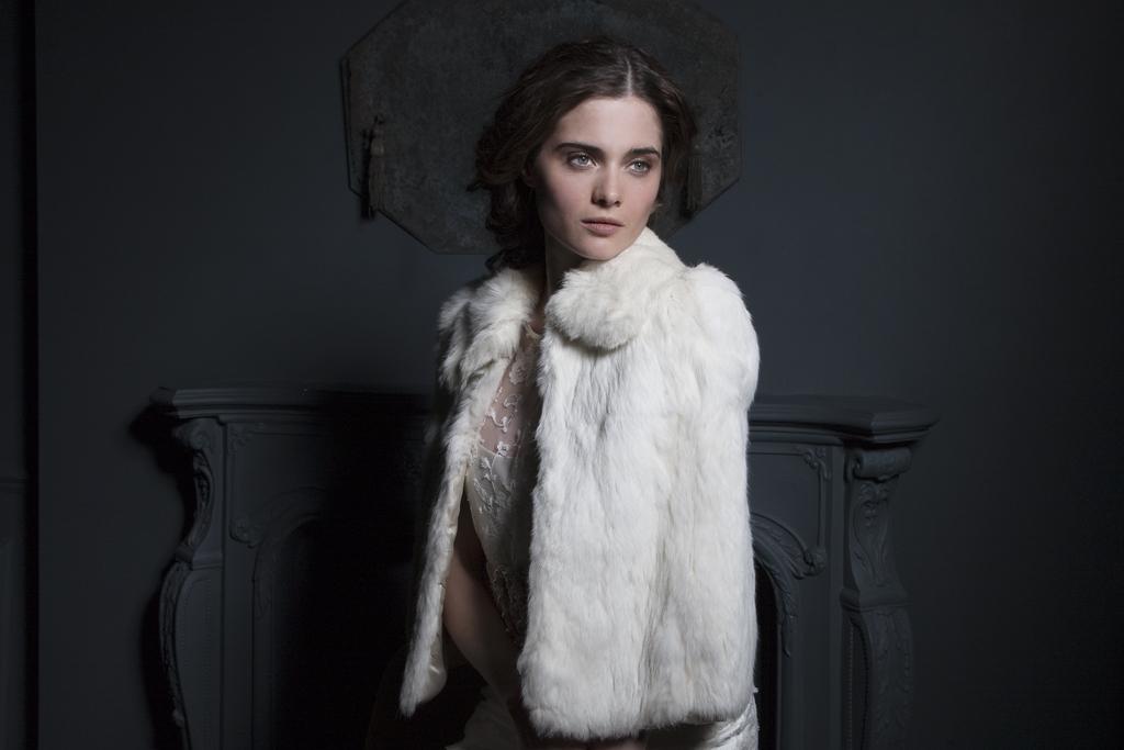 Vintage fur Cape by Halfpenny London
