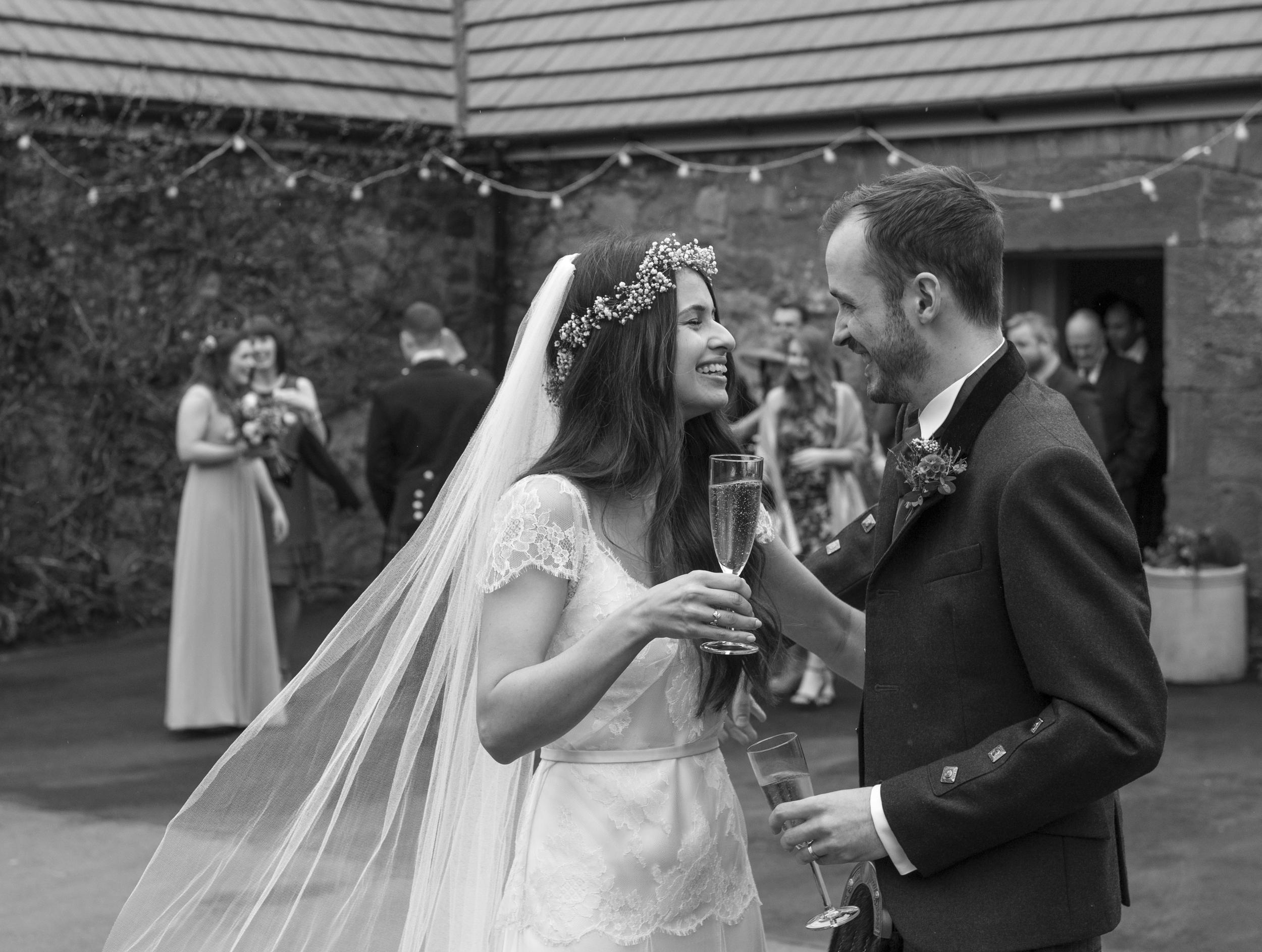 Stunning Fiona wears the Halfpenny London Fifi wedding dress on her big day
