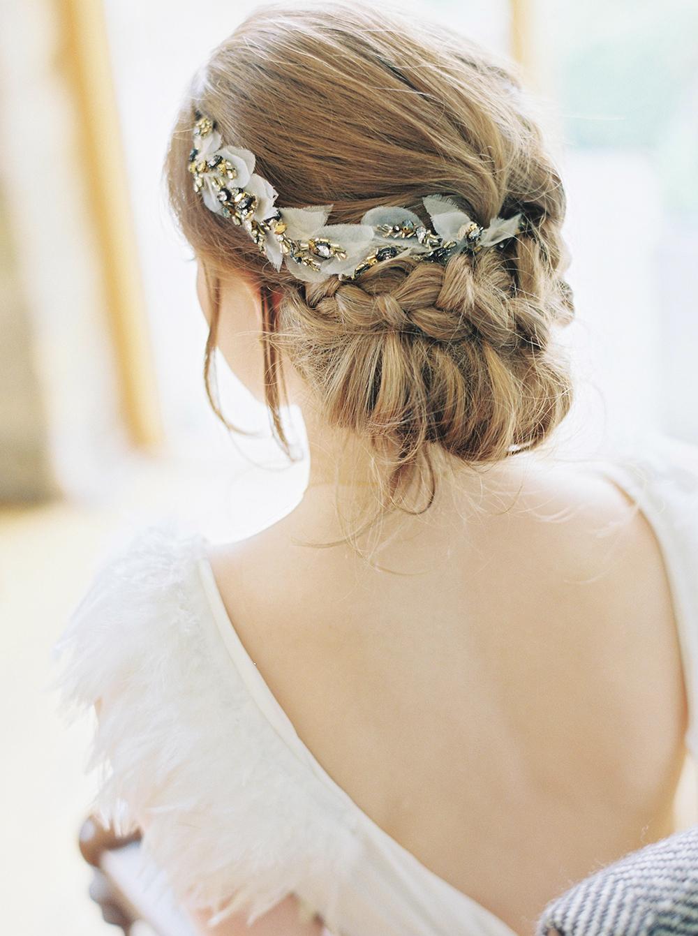 Halfpenny London wedding dress as seen on Rock My Wedding.  Image by Georgina Harrison