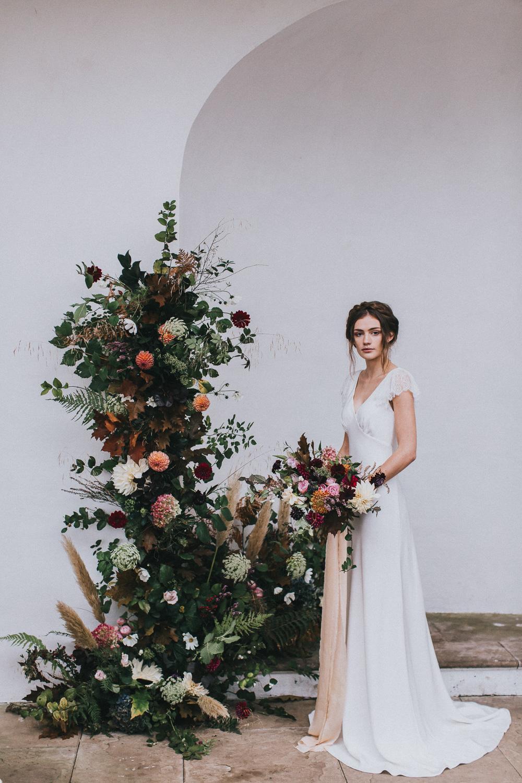 Halfpenny London Vera Frill wedding dress