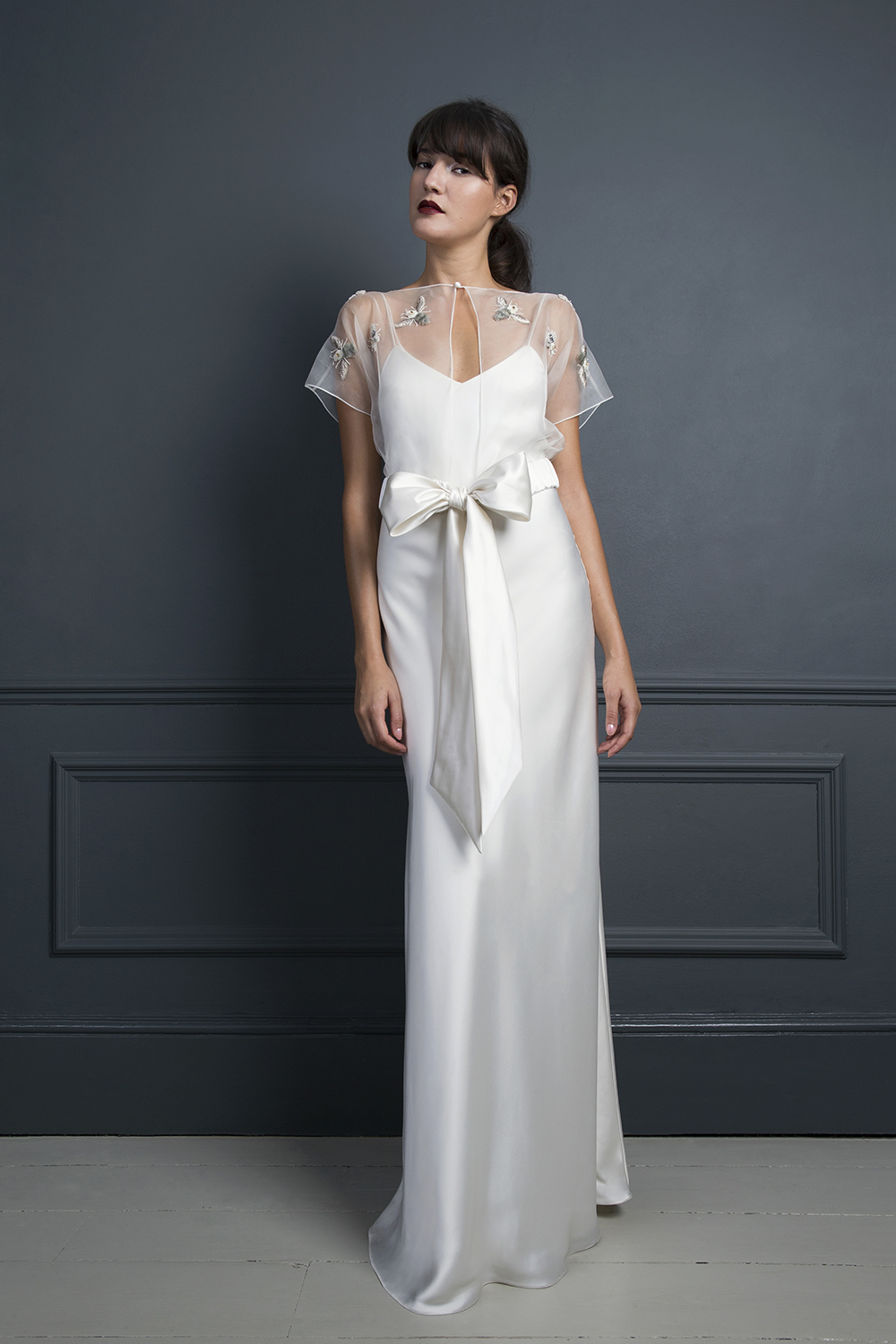 BUMBLE TOP & IRIS SLIP | WEDDING DRESS BY HALFPENNY LONDON